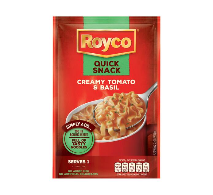 Royco Quick Snack Creamy Tomato And Basil (1 x 38g)