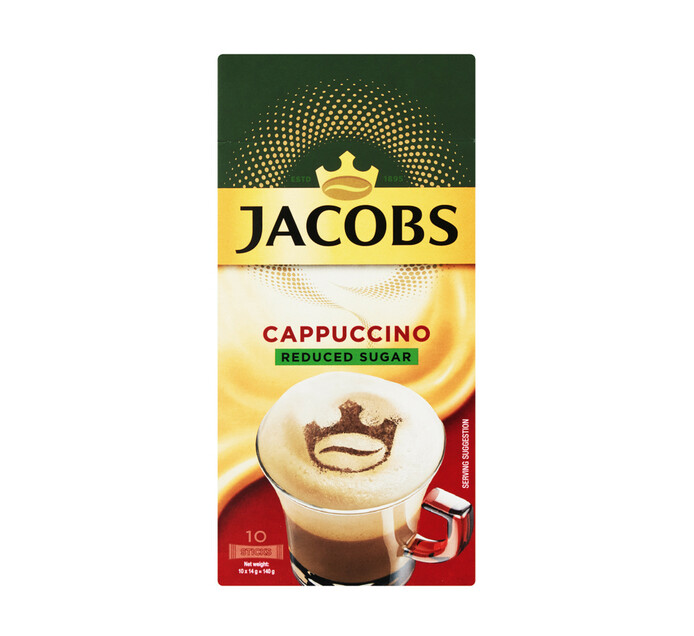 Jacobs Kronung Reduced Sugar (10 x 18.6g)