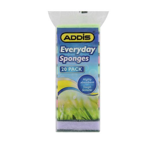 Addis Everyday Sponge Scourers 20-Pack