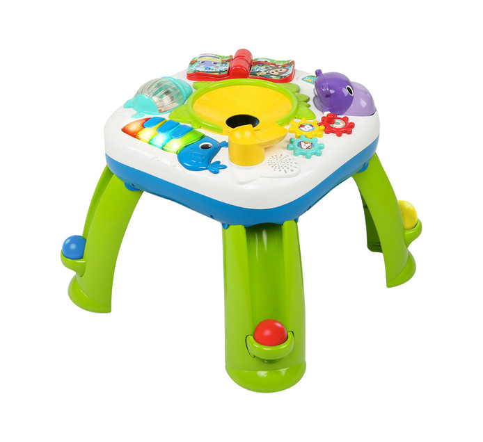 Bright Starts Get Rollin' Activity Table