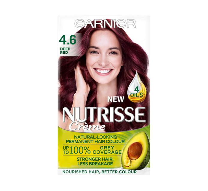 Garnier Nutrisse Hair Colour 4.6 Deep Red (1 x 1's)