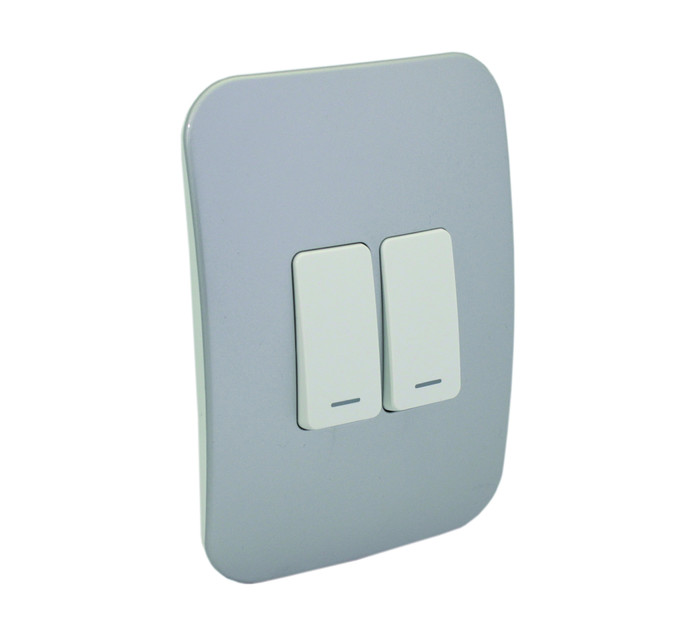 Veti 100X50 Two Lever One-Way Switch with Locator .