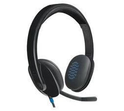 Logitech H540 USB Computer Headset with Noise-Cancelling