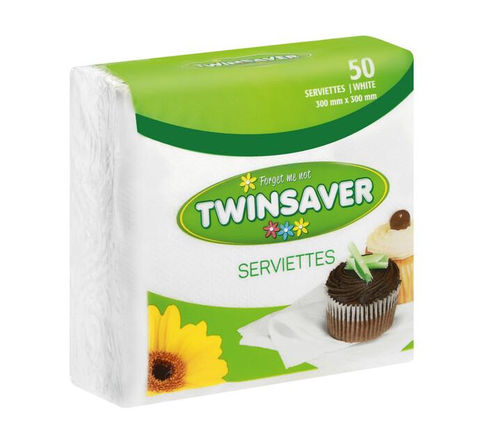 Twinsaver Serviettes Polywrap (1 x 50's)