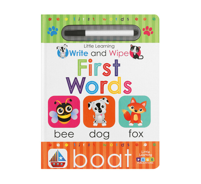 Write and Wipe First Words