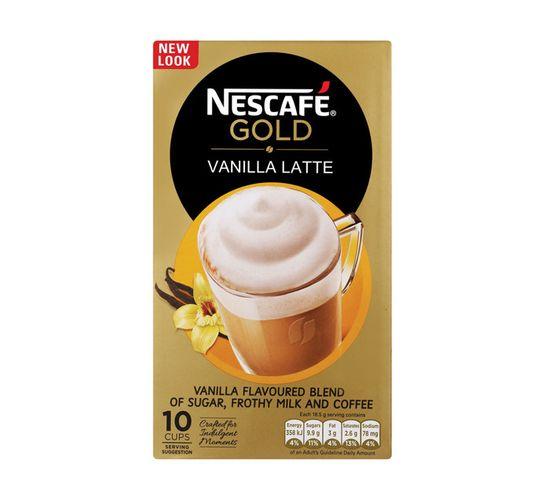 Nescafe Vanilla Latte 3 in 1 (10 x 18.5g)