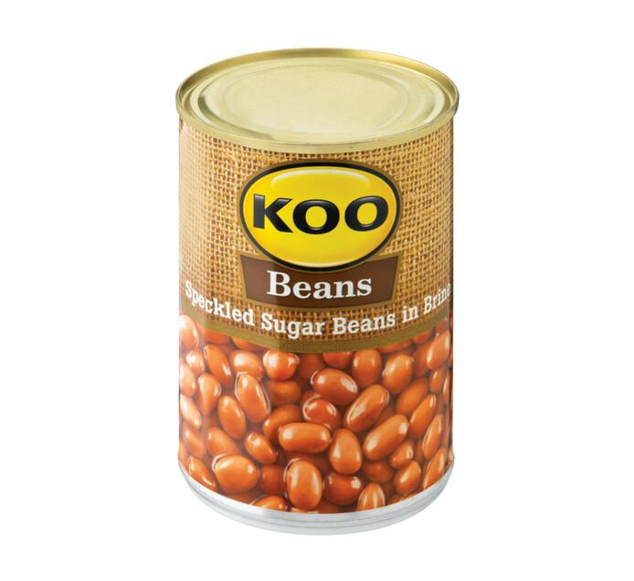 KOO Speckled Sugar Beans (1  x 410g)