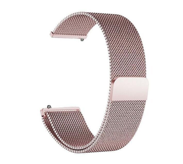 Zonabel Fitbit Versa Milanese Strap - Rose Gold (Large)