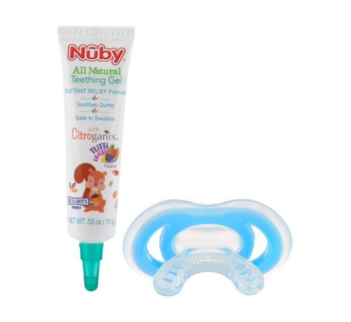 Nuby Gumeeze Teether and Teething Gel