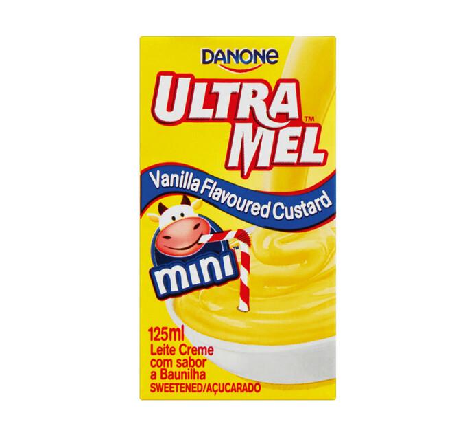 Danone Ultramel Custard Vanilla (6 x 125ml)