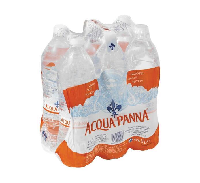 Acqua Panna Still Water (PET) (6 x 1L)