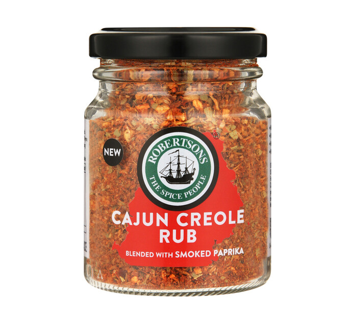 Robertsons Spice Rub Cajun Creole (1 x 70g)