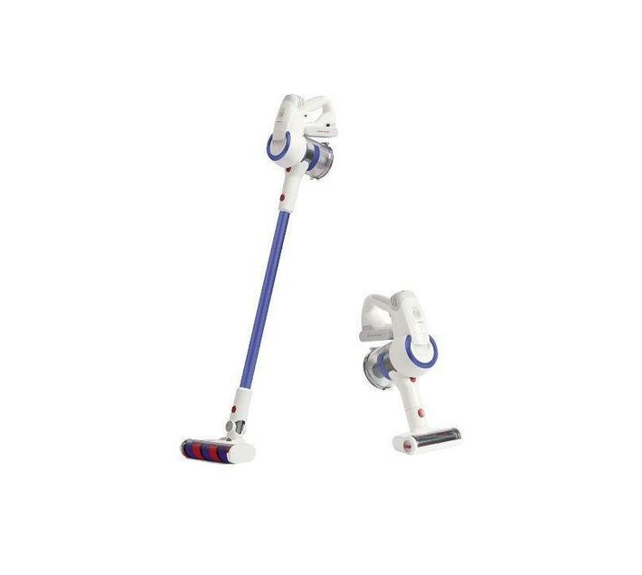 Jimmy Cordless Vacuum Cleaner 53Lite - White& Blue 425W Power 125AW Suction Power 0.5L Dust cup capacity Battery 6x2500mAh