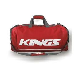 Kings Dome Shaped Red & White Carry Bag - 2577S