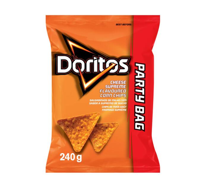 Doritos Corn Chips Cheese Supreme (240g)