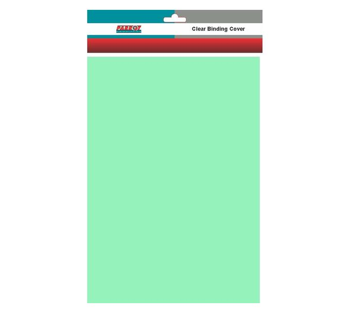 PARROT PRODUCTS Frosted Polypropylene Binding Covers (A4, 300 Micron, Pack of 25, Green)