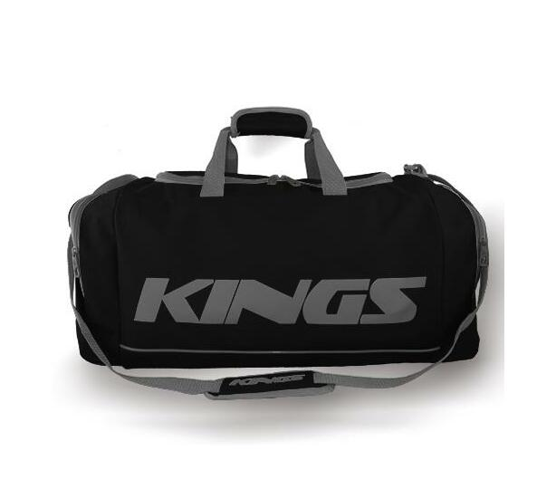 Kings Dome Shaped Carry Bag Black & Grey - 2577M