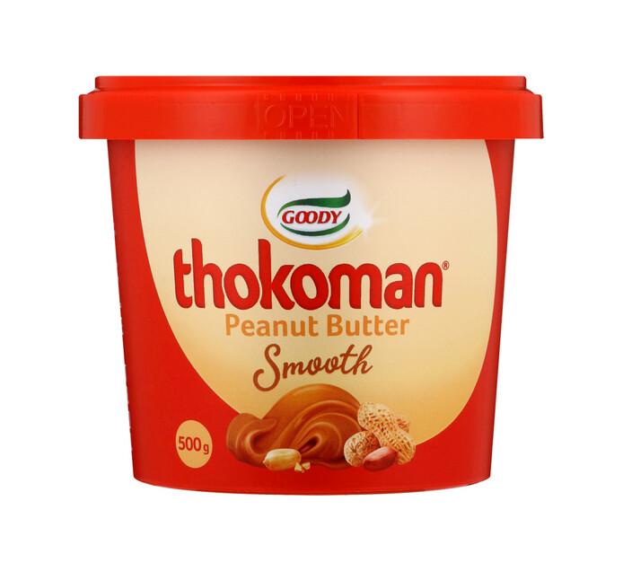 Thokoman Peanut Butter Smooth (6 x 500g)