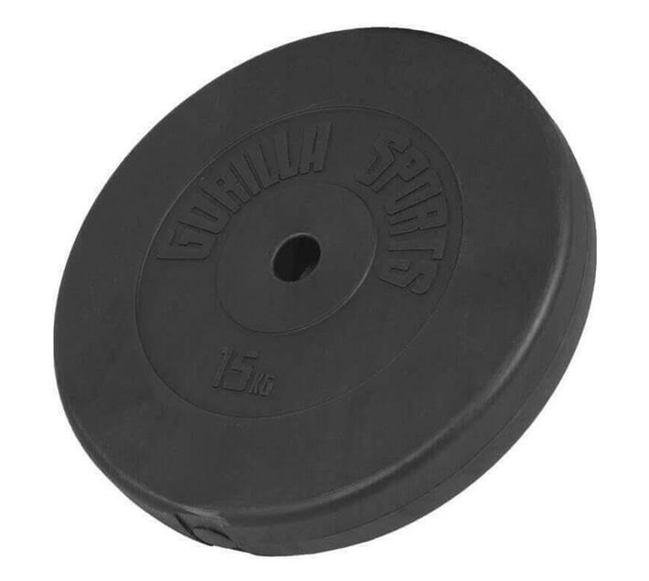 GORILLA SPORTS SA - Vinyl Weight Plate 15KG