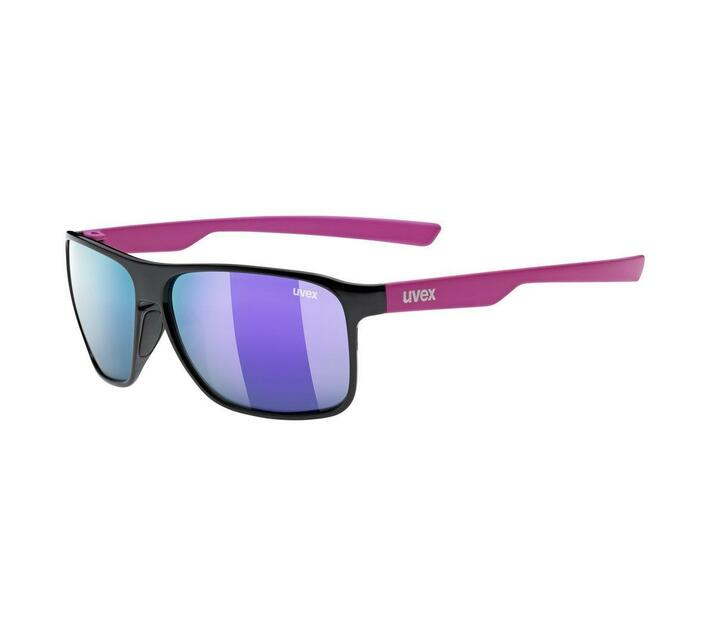 Uvex lgl 33 pola Lifestye Spectacles - Black-Pink