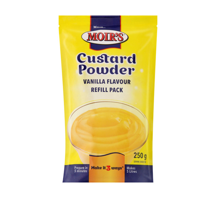 MOIRS Custard Powder Refill (1  x 250g)