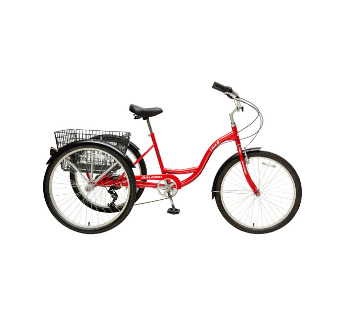 "Raleigh 26"" Trike 7 Speed Tricycle"