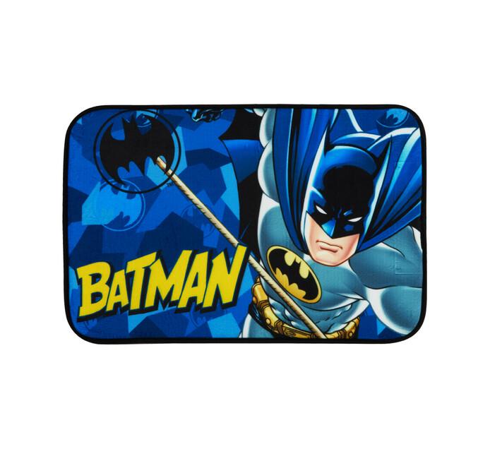 Character 40 x 60 cm Area Rug Mircrofibre Batman