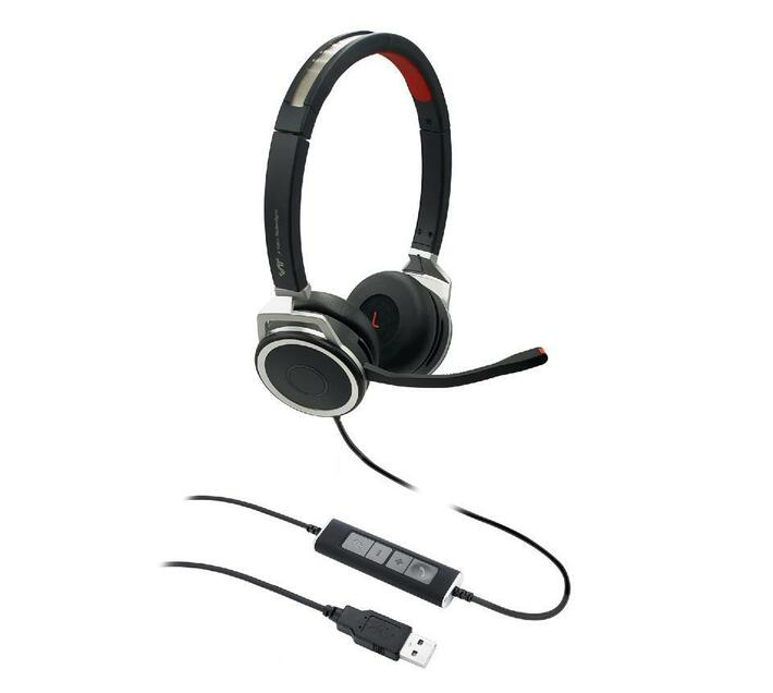 VT X200 Office / Call Centre Headset - USB – Duo