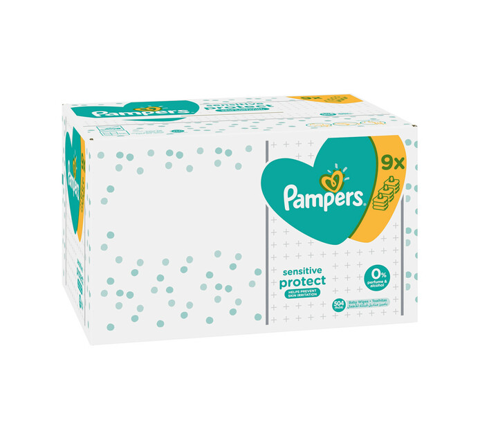 Pampers Megapack Wipes (9 x 64's)