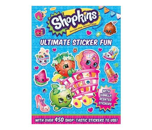Shopkins Ulitmate Sticker Fun