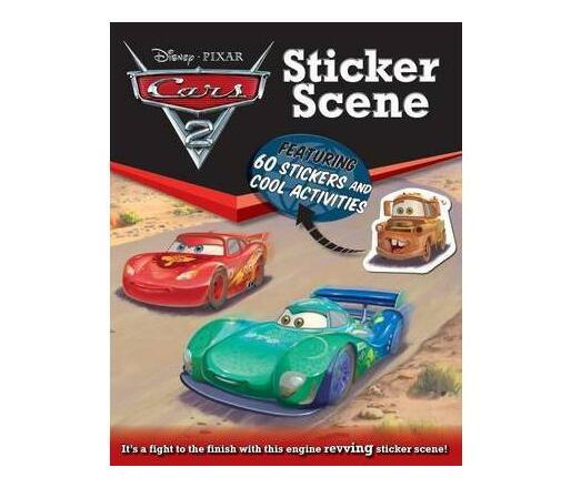 Disney Sticker Scene Cars 2