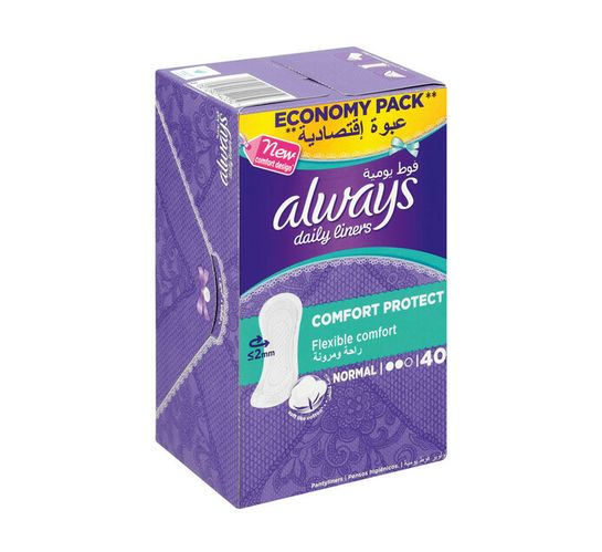Always Panty Liners Normal Unscented (1 x 40's)