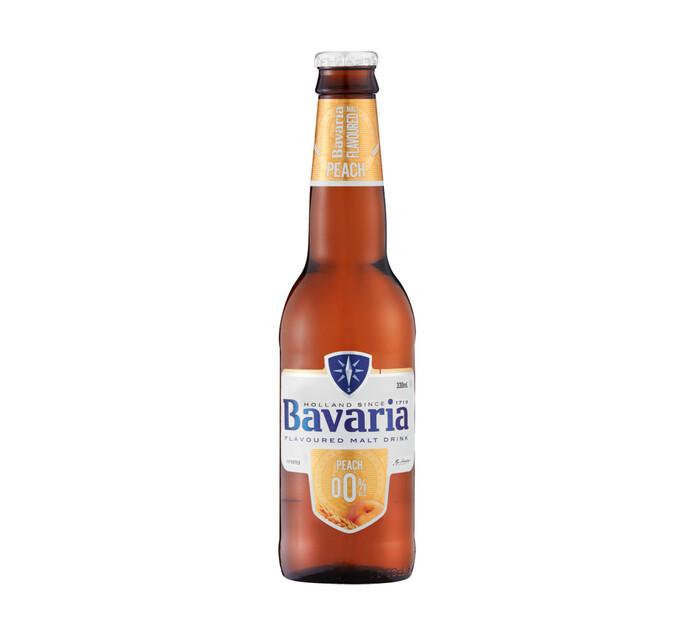 Bavaria Non-Alcoholic Peach NRB (6 x 330ML)