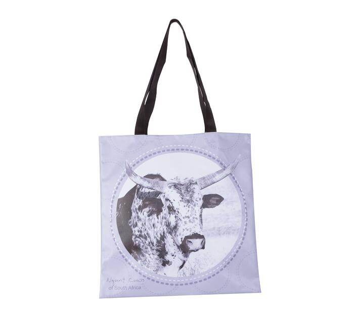 Tote Bag with ( Inkwazi nguni head) print