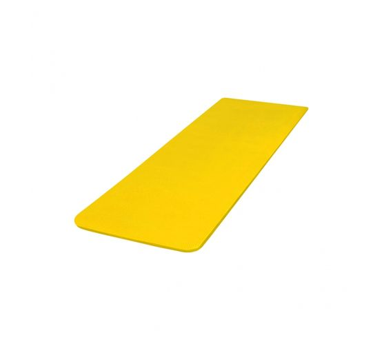 GORILLA SPORTS SA - Deluxe NBR Yoga Mat Yellow 190x60x1.5cm