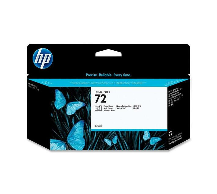 HP 72 - photo black - original - ink cartridge