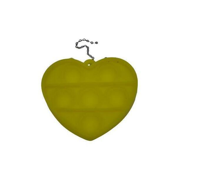 Poppet Fidget Toy (Yellow Heart)