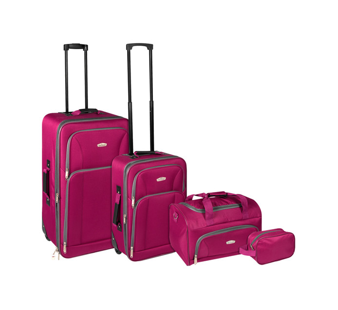 Bonvoyage 4-Piece Luggage Set