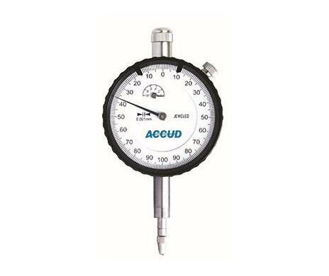 Accud Dial Indicator Lug Back 0-10mm 0.01mm