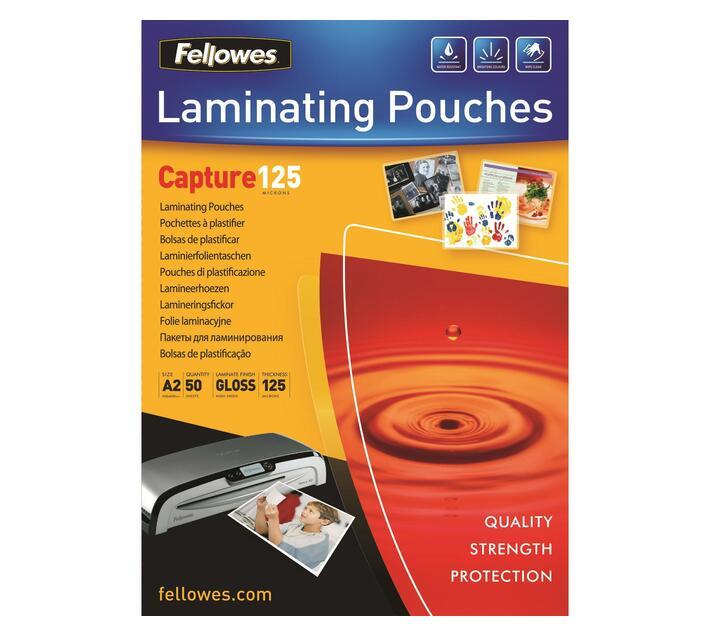 Fellowes ImageLast A2 125 Micron Laminating pouches 50pk