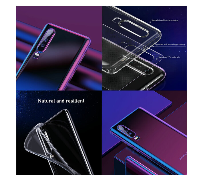 Baseus Simple Case for Huawei P30 - Transparent