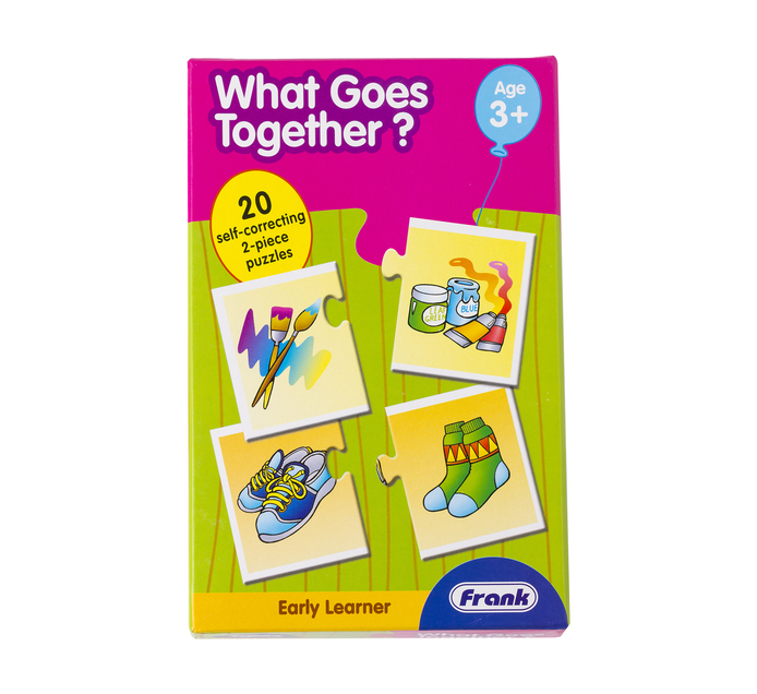 Frank Early Learning What Goes Together