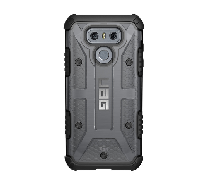 UAG Plasma Case - LG G6 (Clear and Black)