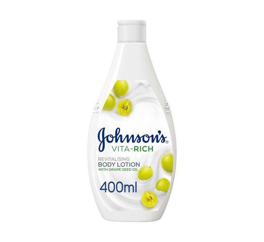 Johnson's Vita Rich Body Lotion Grape Seed (1 x 400ml)