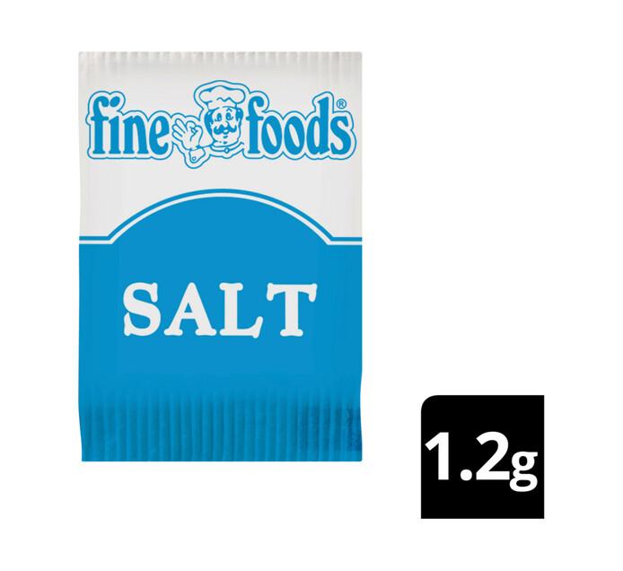 Fine Foods Salt Sachets (1 x 1000's)