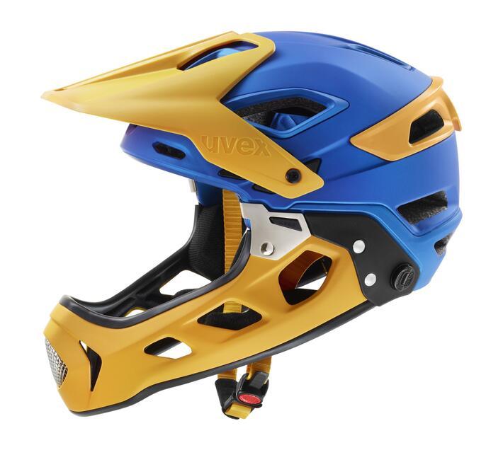 uvex blue -yellow Jakkyl HDE Mountainbike Helmet