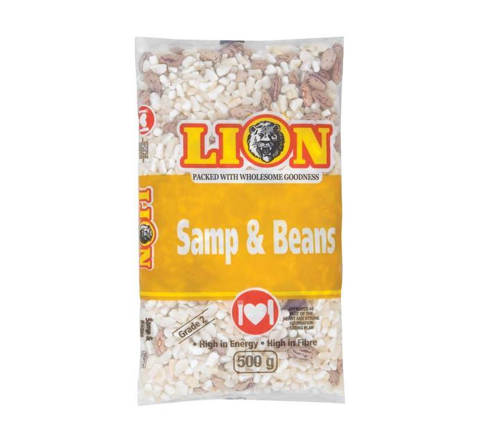 Lion Samp and Beans (10 x 500g)