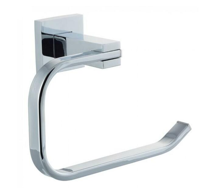 Toilet Roll Holder Square Stainless Stee