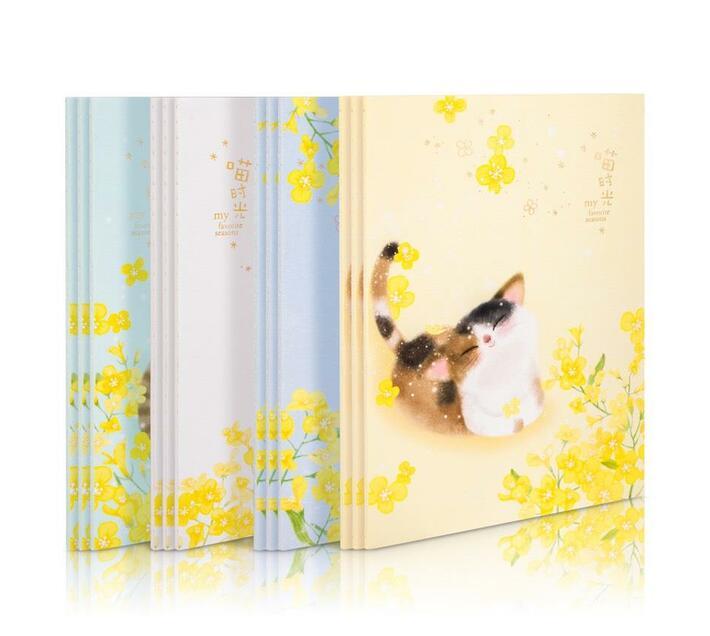 Deli Stationery Sewinng Notebook A5/40 Sheets Asst.