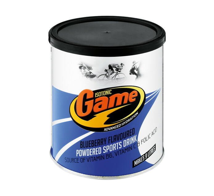 Game Powdered Sports Drink Blueberry (1 x 720g)